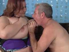 Mature Fat and Sexy Lady Lynn gets fucked