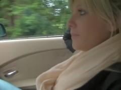 Chefsache Quickie in car