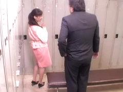 Japanese cunt screwed rough by rod in kinky voyeur movie