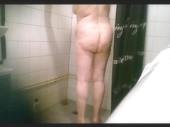Mom in Bathroom (bending over)