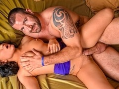 Gabriella Paltrova & Vinny Castillo in Tit for Tat Video