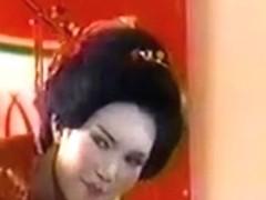 Short Hair White Forelock In Oriental Serenity