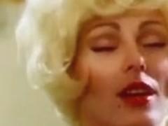 Vintage Blonde Threesome