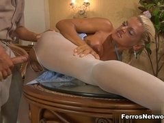 PantyhoseTales Movie: Hannah and Benjamin M