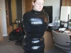 Latex inflatable sack estim