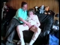 Unattractive old bitch having enjoyment eith younger neighbour