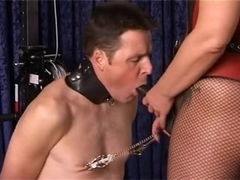 Appealing German Dominant Copulates Her Sub