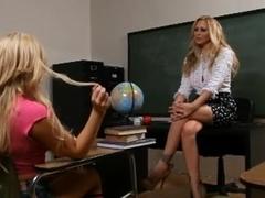 Lesbian Teacher and Student