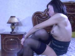 LacyNylons Scene: Lily C