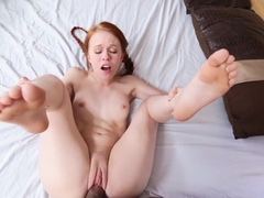 Incredible pornstar Dolly Little in Hottest Redhead, College xxx video
