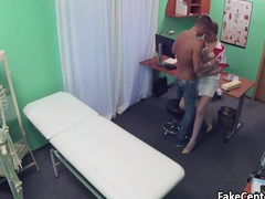 Lucky patient fucked by hot nurse
