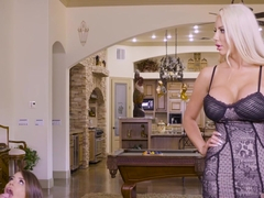 Adriana Chechik And Nicolette Shea In He Makes Wifey Watch