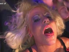 Exotic pornstar in Best Bukkake, Group sex xxx clip