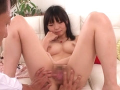 Incredible Japanese chick Ichigo Tominaga in Fabulous JAV censored Fingering, College movie