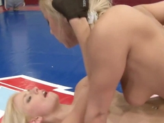 Nicky Thorne licking a hot wet cunt after a fight