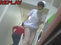 Silk panty nurse gets on the sharking video scenes