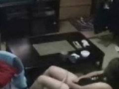 Hidden cam caught my mom masturbating in living room