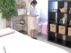 Slim Japanese babe gets some serious Japanese sex fun