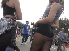 Creep shot of an incredible girl's ass