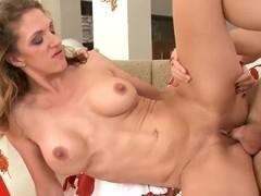 Sexy MILF Roxanne Hall gets her cunt boned hard