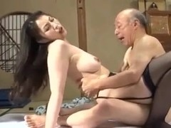 Grandfather and not his daughter-in-law is fuck