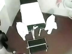 Hidden cam in doctor