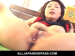 Hatsumi Kudos cock juice filled love tunnel
