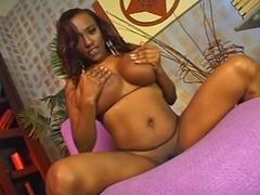 Big black tits pretty face
