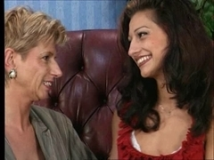 Old german mommy having pleasure with a cute juvenile hotty