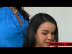 Hot Kendra Lust gives aleeson to Dillion Harper she will never forget