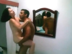 Cuckold tapes his wife having sex with an indian guy