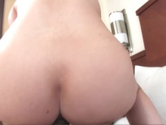 Sexy Pinup Teen Gets Boned