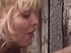 MFF Vintage threesome with two horny retro sluts