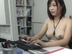 Incredible Japanese girl Mei Akizuki in Crazy Office, Softcore JAV video
