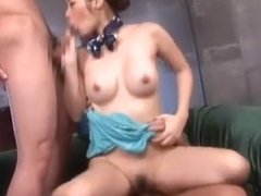 Horny Japanese model Kana Yuuki in Incredible Handjobs, Close-up JAV clip