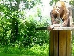 redhead fucking outdoor