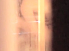 Wife is washing her delicious body on shower spy scenes