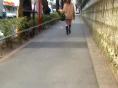 Elegant Japanese brunette is having sharking affair with some kinky chap