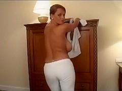 Breasty Disrobe Tease