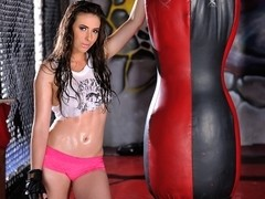 Casey Calvert in Total Knock-Out!