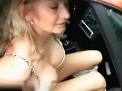 Unexpected brilliant blowjob outdoors