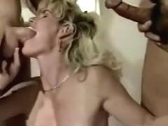 Boy Films Mom being Fucked