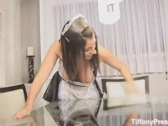 TiffanyPreston: Maid masturbate while on duty