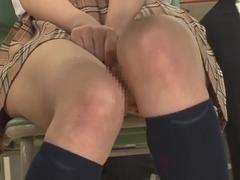 Ayu Sakurai in No Underwear
