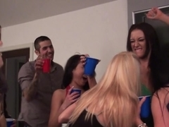 Teens start up dirty orgy