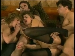 Vintage German porn with sexy sluts shagging