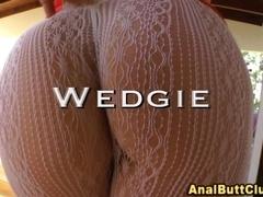 Big booty hos get wedgies