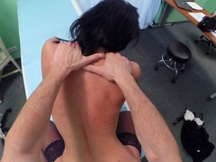Exotic pornstar in Fabulous Brunette, Stockings xxx clip