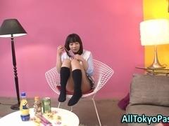 Asian teen hoe creamed