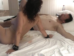 Sara, the Hotwife again with one of her many Lovers